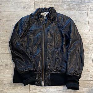 Mackage x Aritzia Ellie Leather Jacket